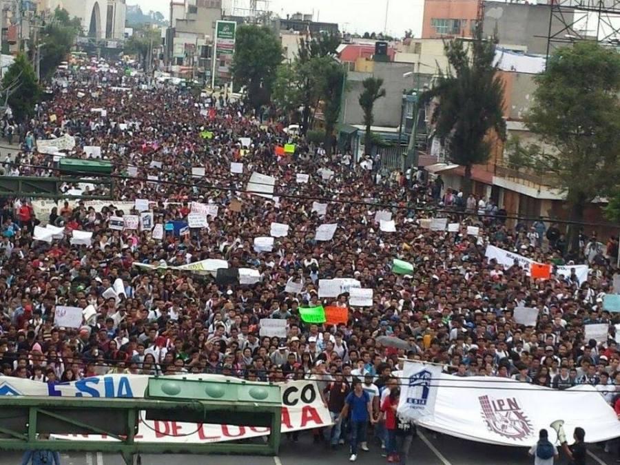IPN Protesta