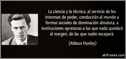 Frases Aldous Huxley
