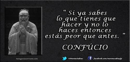 Frases Confucio