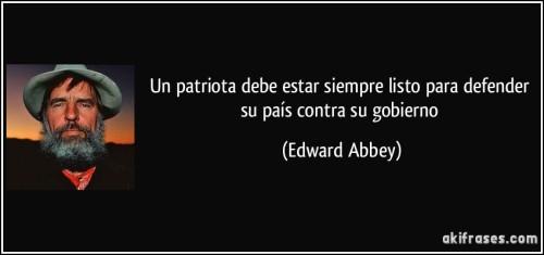 Frases Edward Abbey