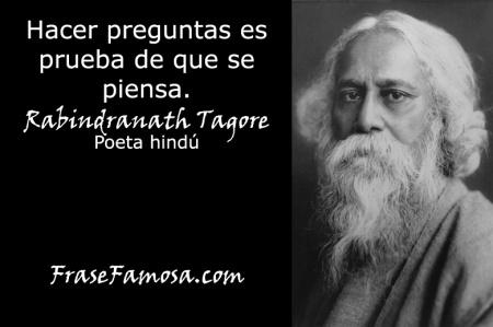 Frases Rabindranath Tagore