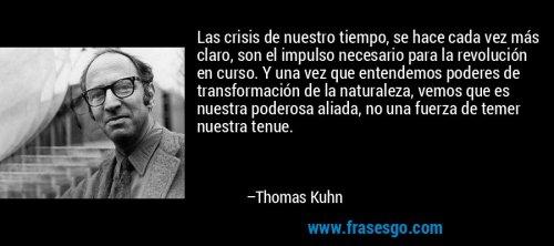 Frases Thomas Kuhn
