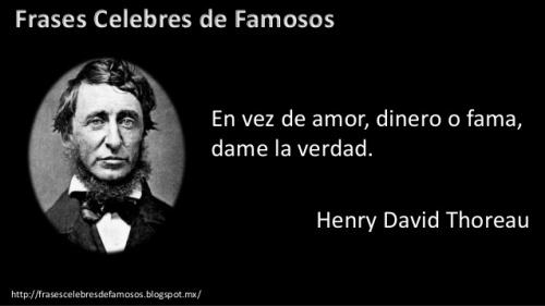 Frases Thoreau