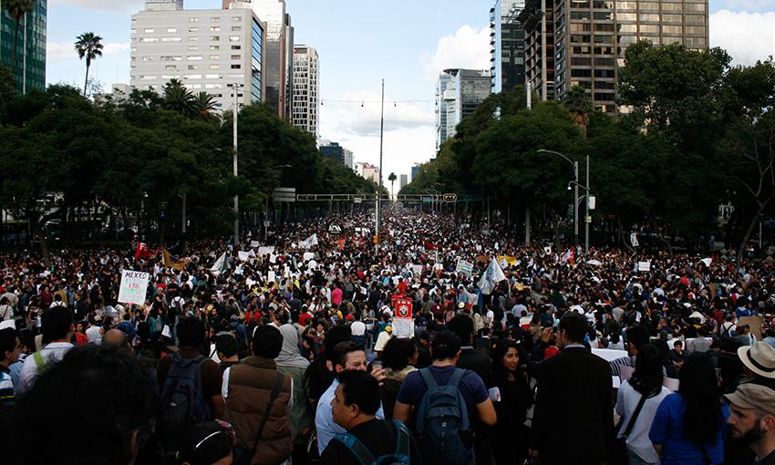 Fotografía tomada del portal Aristegui Noticias