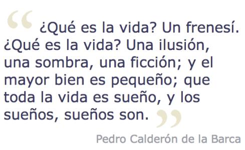 Pedro Calderon de la Barca