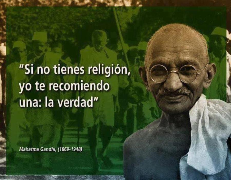 Si no tienes religión yo te recomiendo una - la verdad