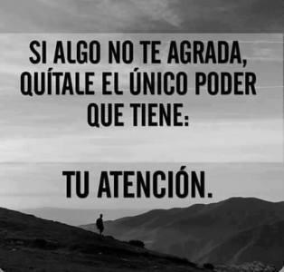 Tu atención