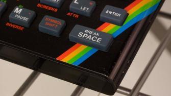 Teclado de Spectrum (Foto: Marcin Wichary)
